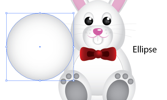 Create a Cute Easter Bunny Vector