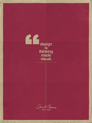 50  Excellent Posters about Design - Design was hereQuote Poster Design