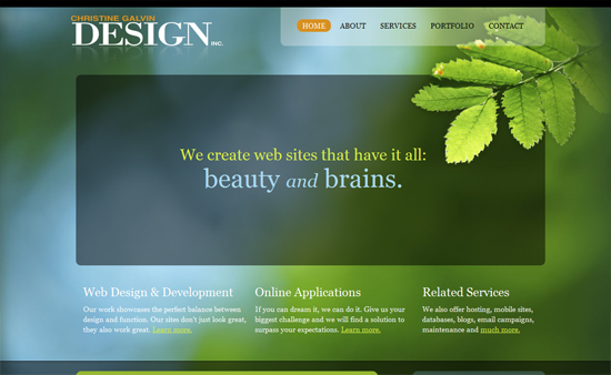 Featured Website Design of the Week 05-09-09