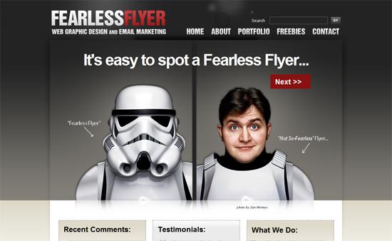 Featured Website Design of the Week 050909 – Web Flyer