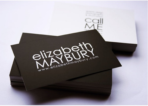 how to design a business card with style